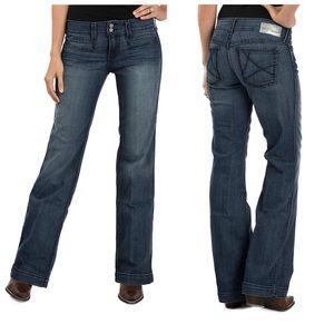 Ariat Denim Trouser Wide Leg Jeans 25 x 30
